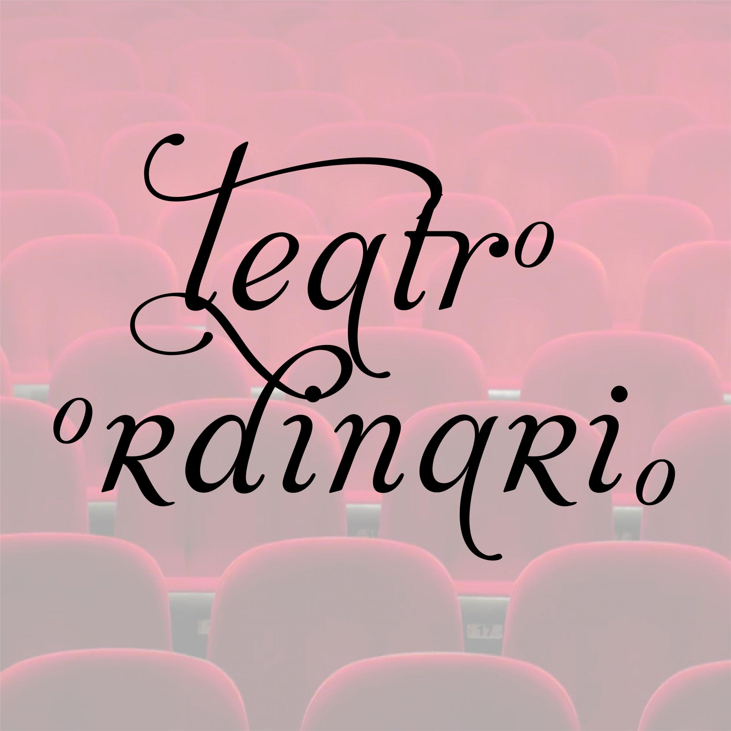Imagen Corporativa Teatro Ordinario