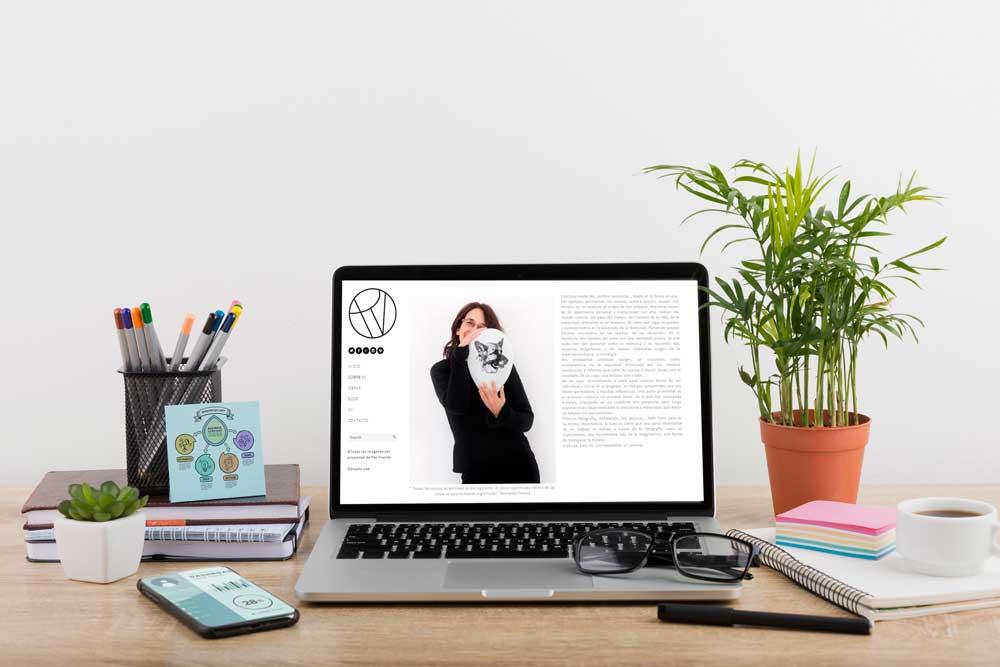 Diseño Web Paz Vicente