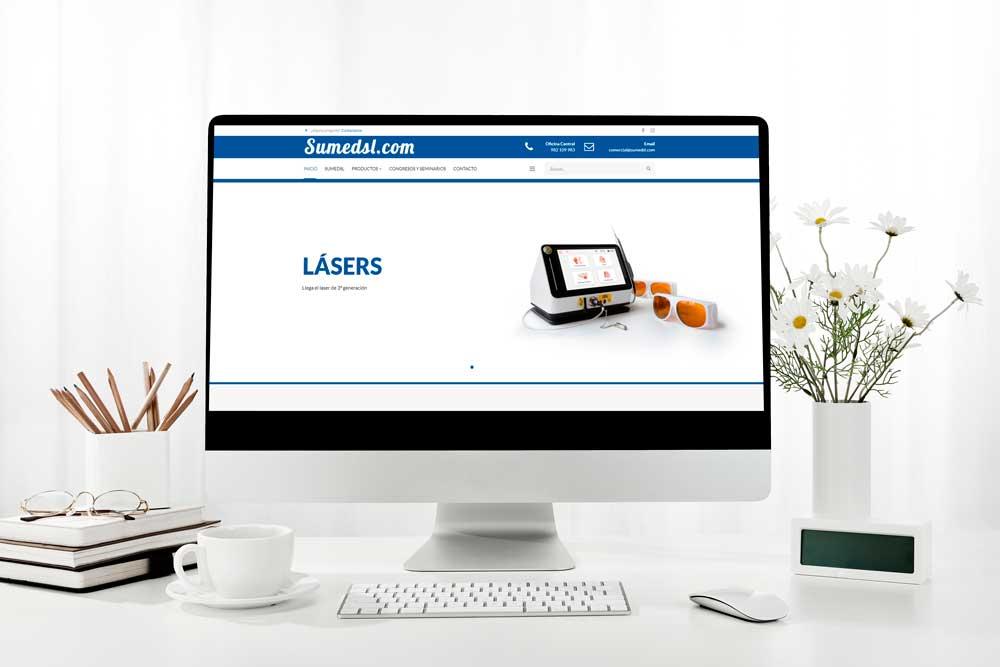 Diseño Web Sumed SL